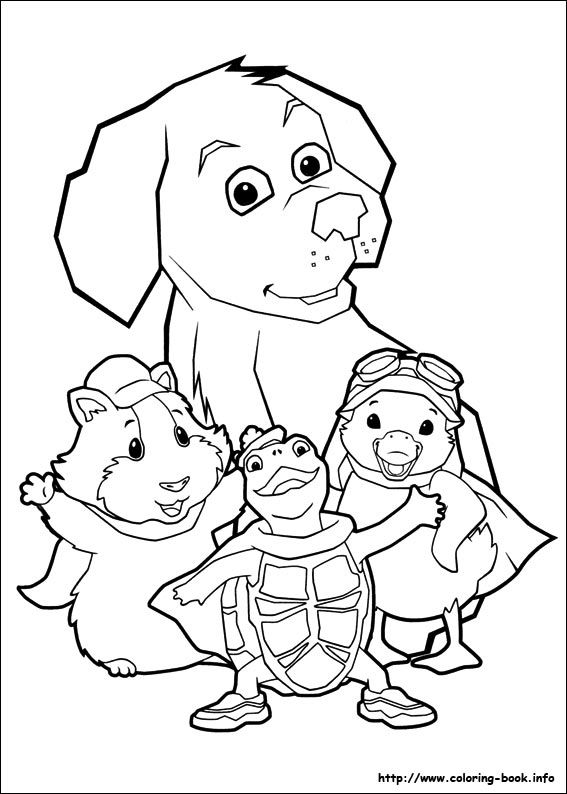 Wonder Pets coloring picture They Say It\u0027s Your Birthday
