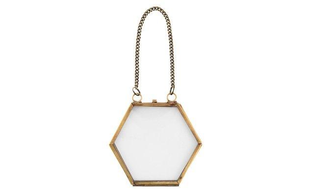 by Sainsbury\'s Hexagonal Hanging Frame | Master bedroom | Pinterest