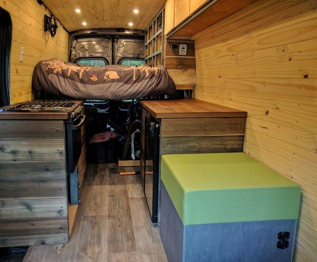 Ford Transit Camper Van Diy Conversion With Images Transit