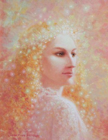 An Angel of Christmas - Art of Jonathan Wiltshire