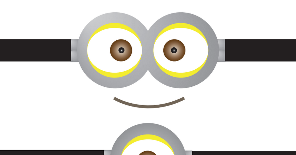 graphic about Minions Eyes Printable identified as Despicable Me Printables.pdf Chases 2nd birthday