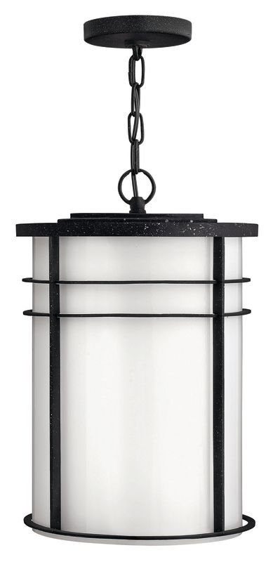 Hinkley Lighting 1122-LED 1 Light LED Full Sized Outdoor Pendant from the Ledgew Vintage Black Outdoor Lighting Pendants