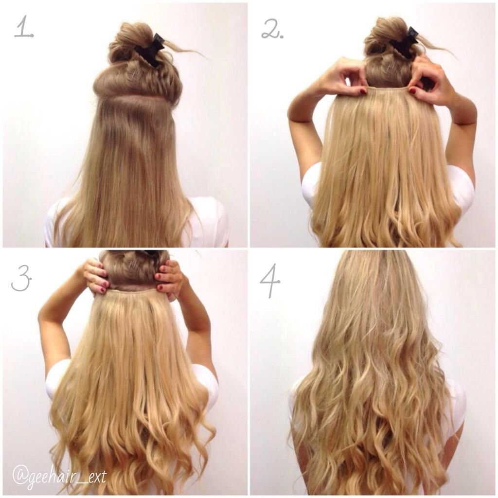 One Piece Of Advice 1 Section Hair 2 Clip In The One Piece 3