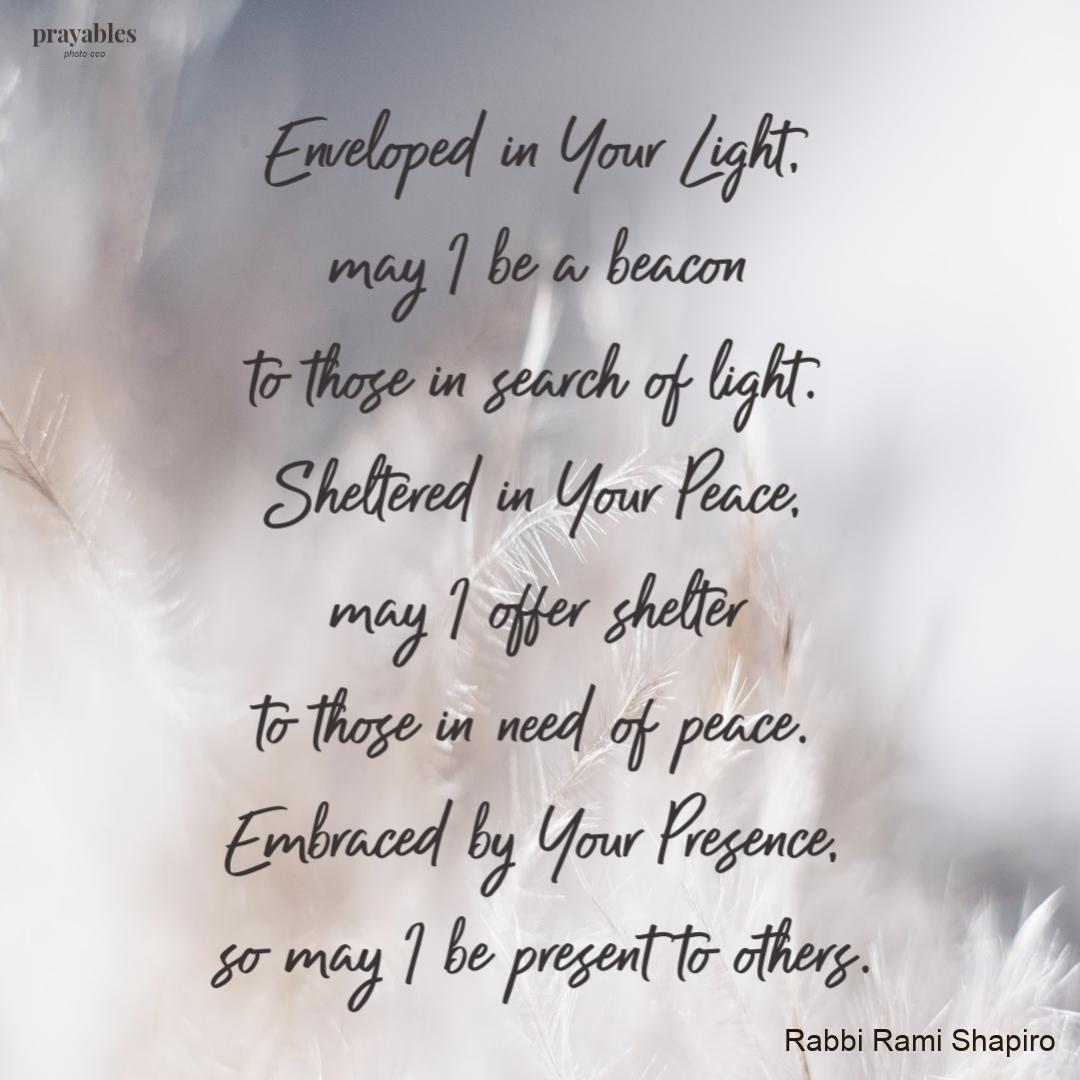 Prayer Enveloped In Your Light Prayables