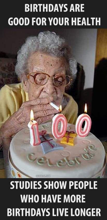 Happy Birthday Old Lady Meme : happy, birthday, Health, Funny, Happy, Birthday, Grandma, Funny,, People,, Pictures
