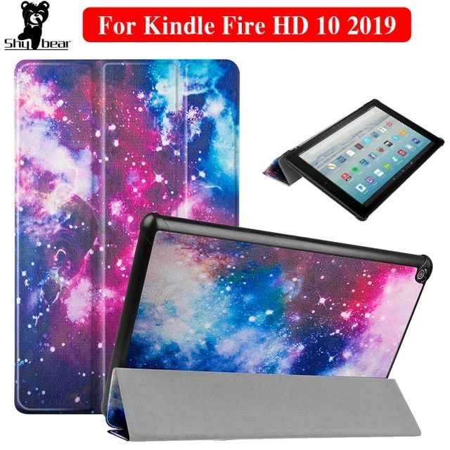 For Amazon Kindle Fire Hd 8 8inch Tablet Case Eiffel Tower Balloo Pu Leather Flip Cover Case For Fire Hd 8 6t Kindle Fire Case Tablet Case Amazon Kindle Fire