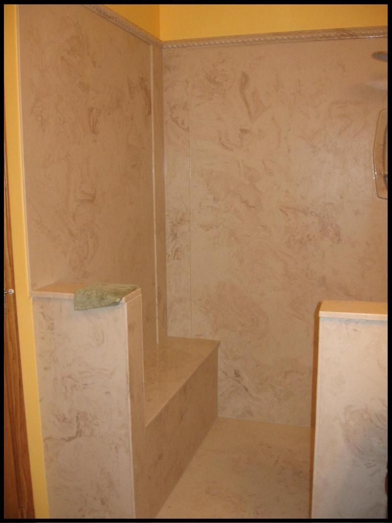 Cultured Granite Showers   Google Search