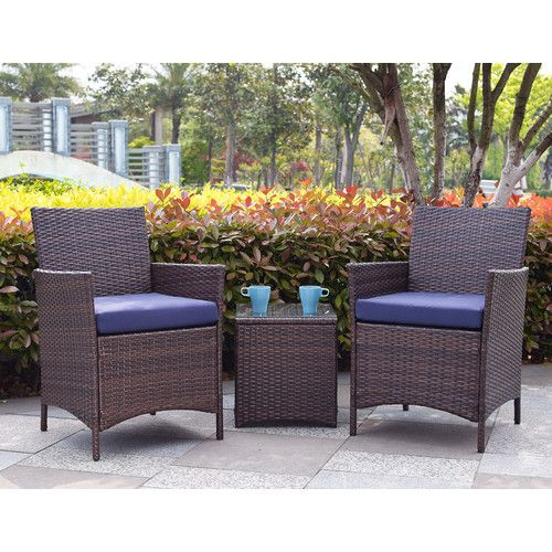 Found It At Wayfair Minden 3 Piece Lounge Seating Group With
