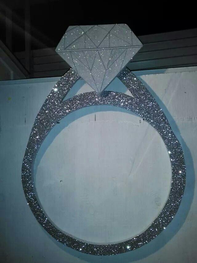 Marco para fotos anillo de compromiso | Creacines RV | Pinterest ...
