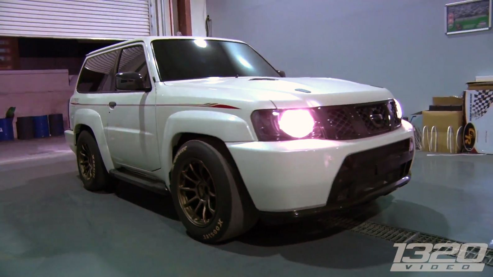 small resolution of nissan patrol with a 4 1 l vr38dett v6 and r35 drivetrain