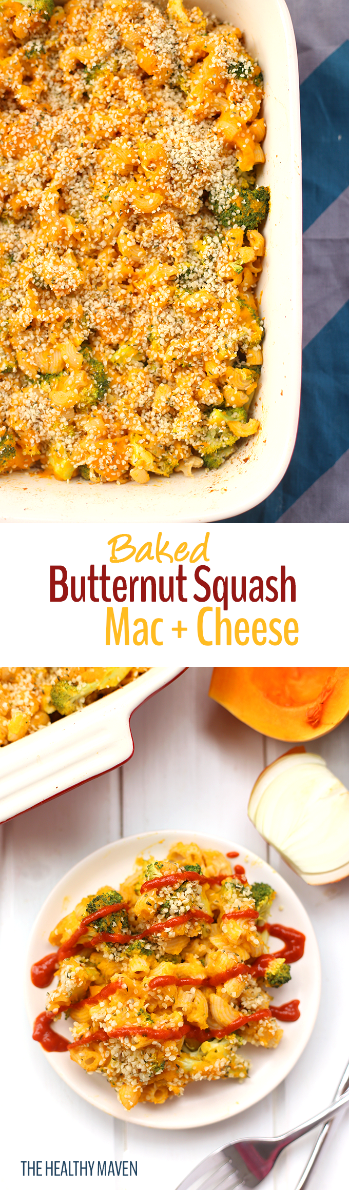 Photo of Vegan Mac and Cheese [with Butternut Squash!] – The Healthy Maven