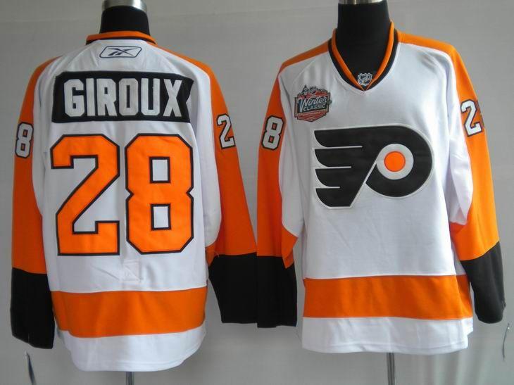 c10fd9362b9 $20.00 NHL Jerseys Philadelphia Flyers Claude Giroux #28 White | NFL ...