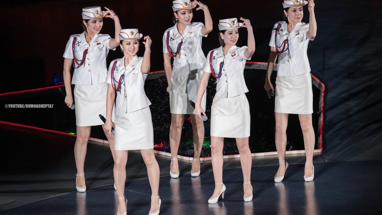 North Korean Moranbong Band The Worlds Most Famous Songs -5842