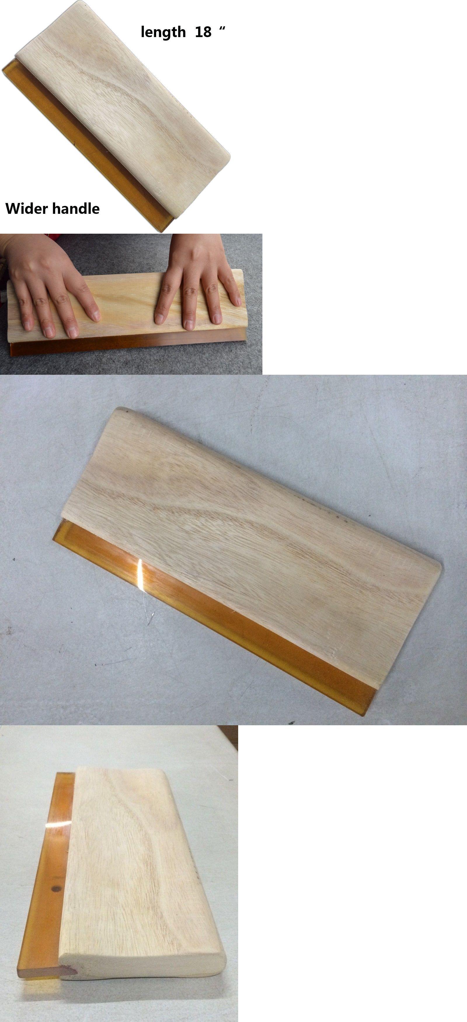 "6Pcs Silk Screen Printing Dilat Squeegee Ink Scraper 65// DURO 6/""//12/""//13/""//18/""//39/"""