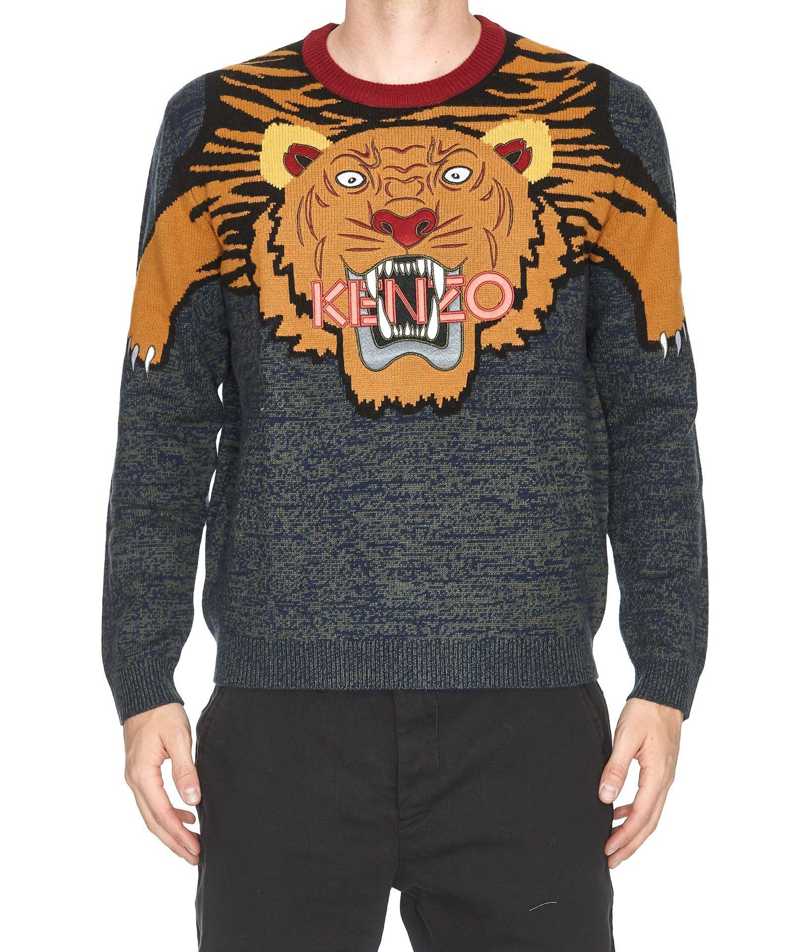kenzo men tiger sweater