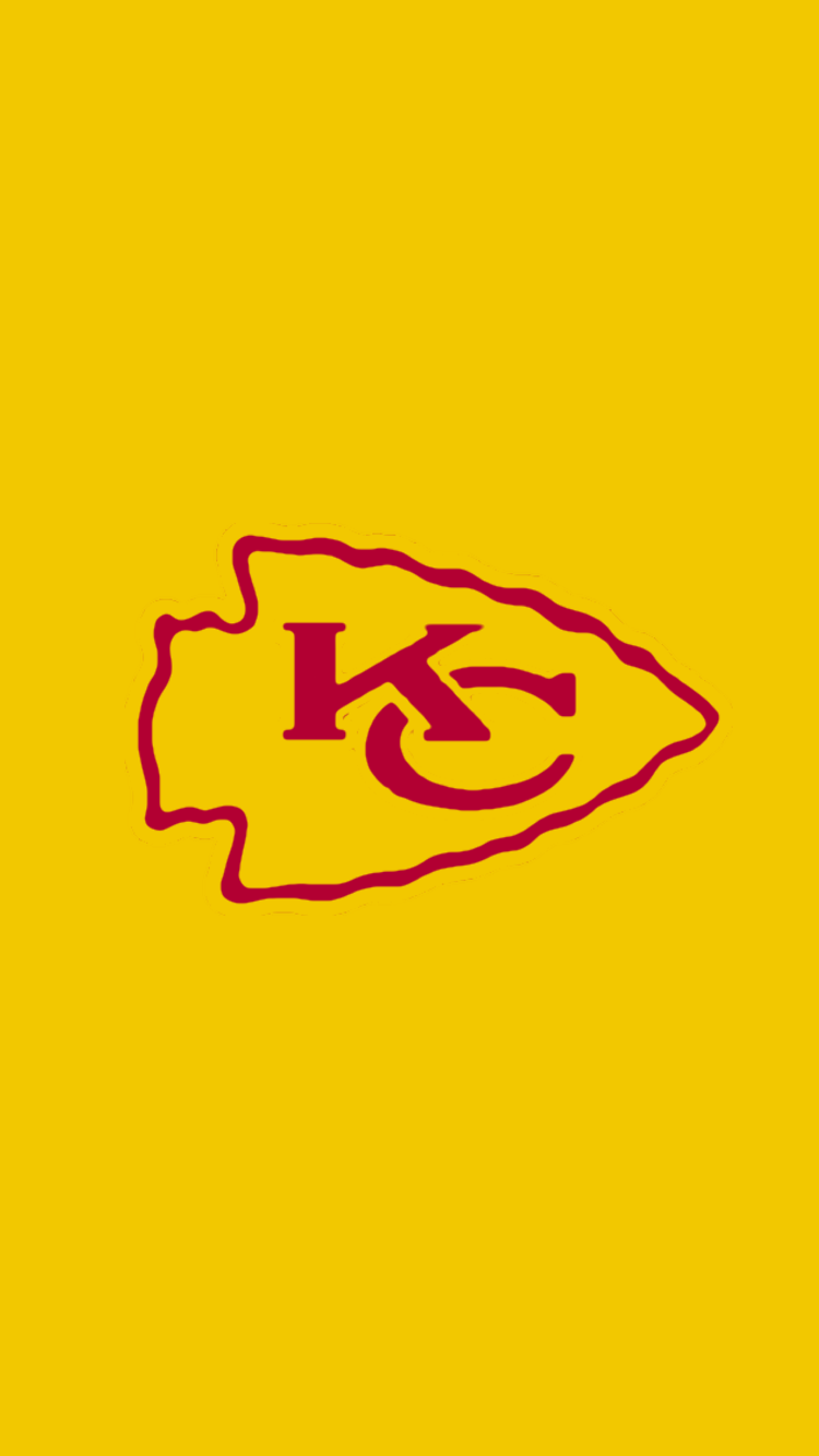 Minimalistic Nfl Backgrounds Afc West With Images Kansas City Chiefs Logo