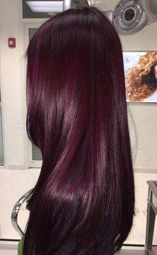 Photo of 18 super ideas color de pelo rojo violeta cortes de pelo #haar # color de pelo de invierno # color #haar …