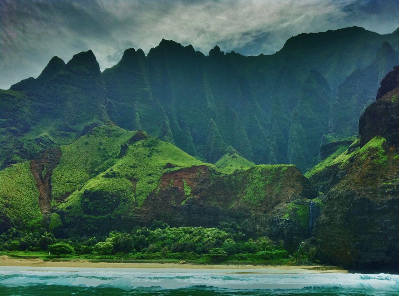 napali coast photographs | na pali coast kauai hawaii photo by cam standish edited by cam ...