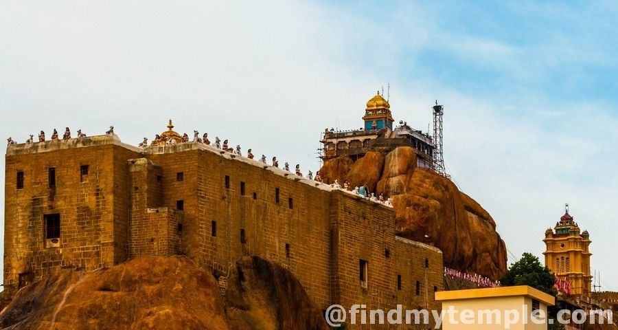 Malaikottai Uchipillaiyar Temple Rockfort Rockfort Is One Of The Oldest Formations Of Rocks In The World It Is Said To Be 3 8 Bi Tamil Nadu Himalayas Temple