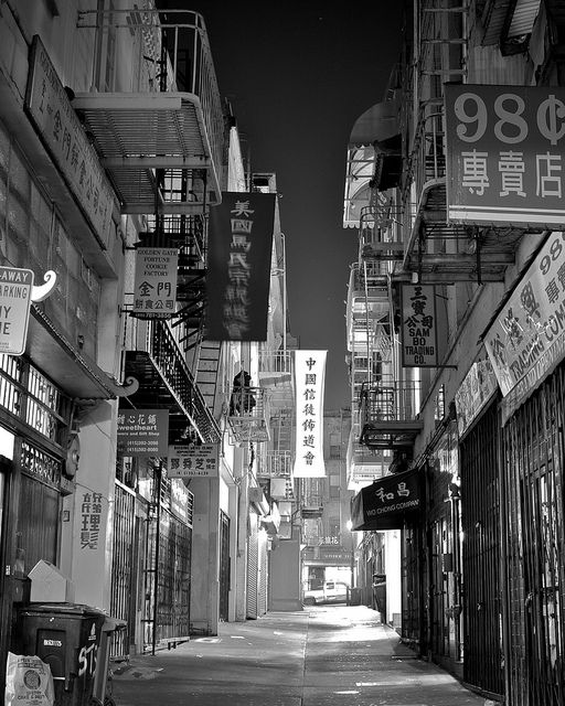 Ross Alley - San Francisco Chinatown