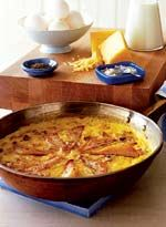 Pear and Black-Forest-Bacon Frittata #baconfrittata