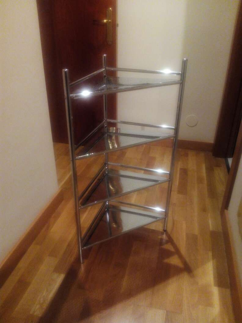 15 Oviedo Estanteria Metalica Para Bano 4 Baldas Ladder