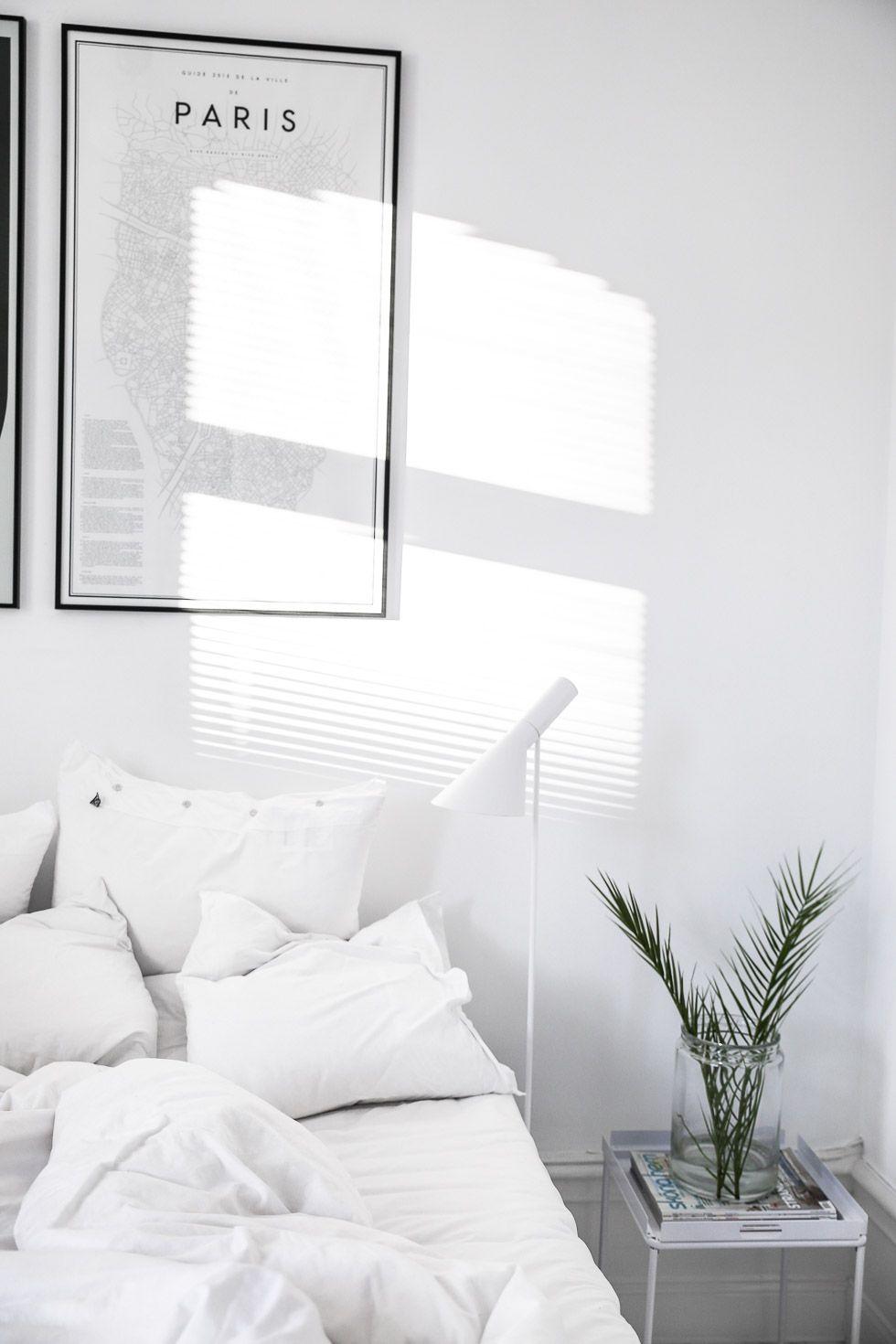 curtains | white linen | floor length | master bedroom | Sovrum ...