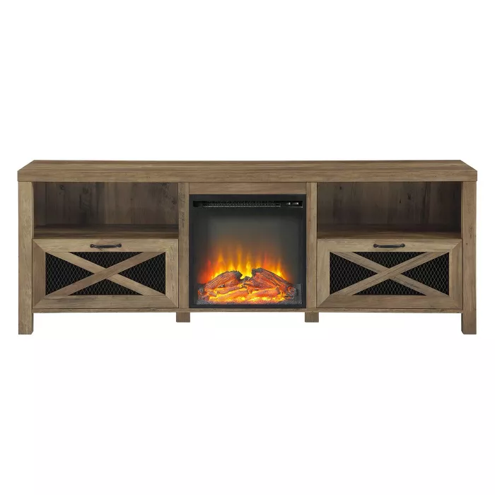 25+ Rustic farmhouse tv stand with fireplace most popular