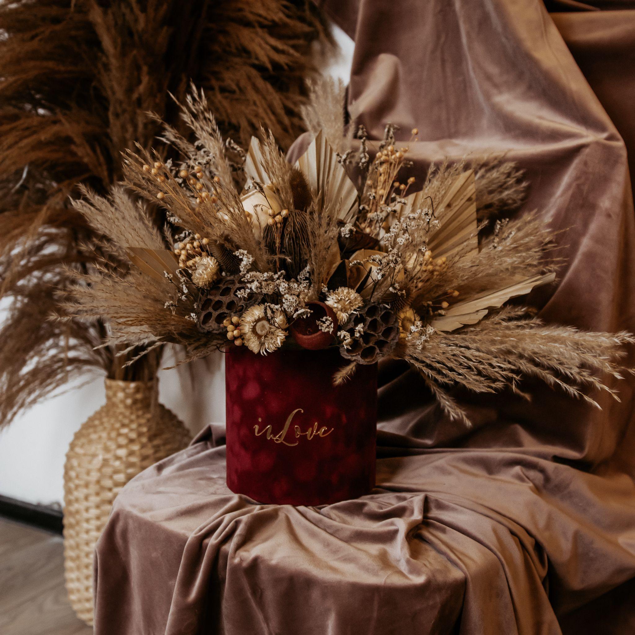 Flowerbox Z Suszu Inlove Gift Wrapping