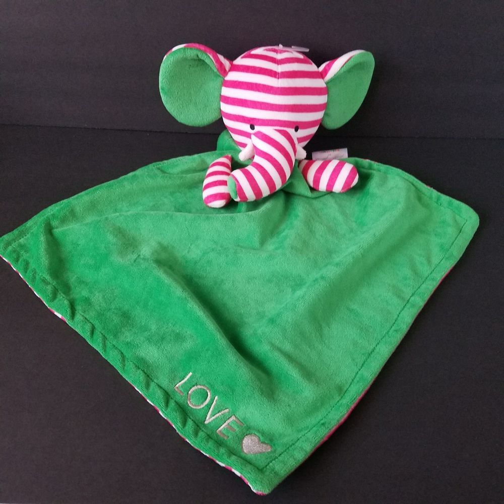 Details about bella tunno elephant security blanket love poetic