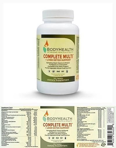 Sports diet and weight loss body health complete multi liver detox sports diet and weight loss body health complete multi liver detox support 120 tablets dextox malvernweather Images