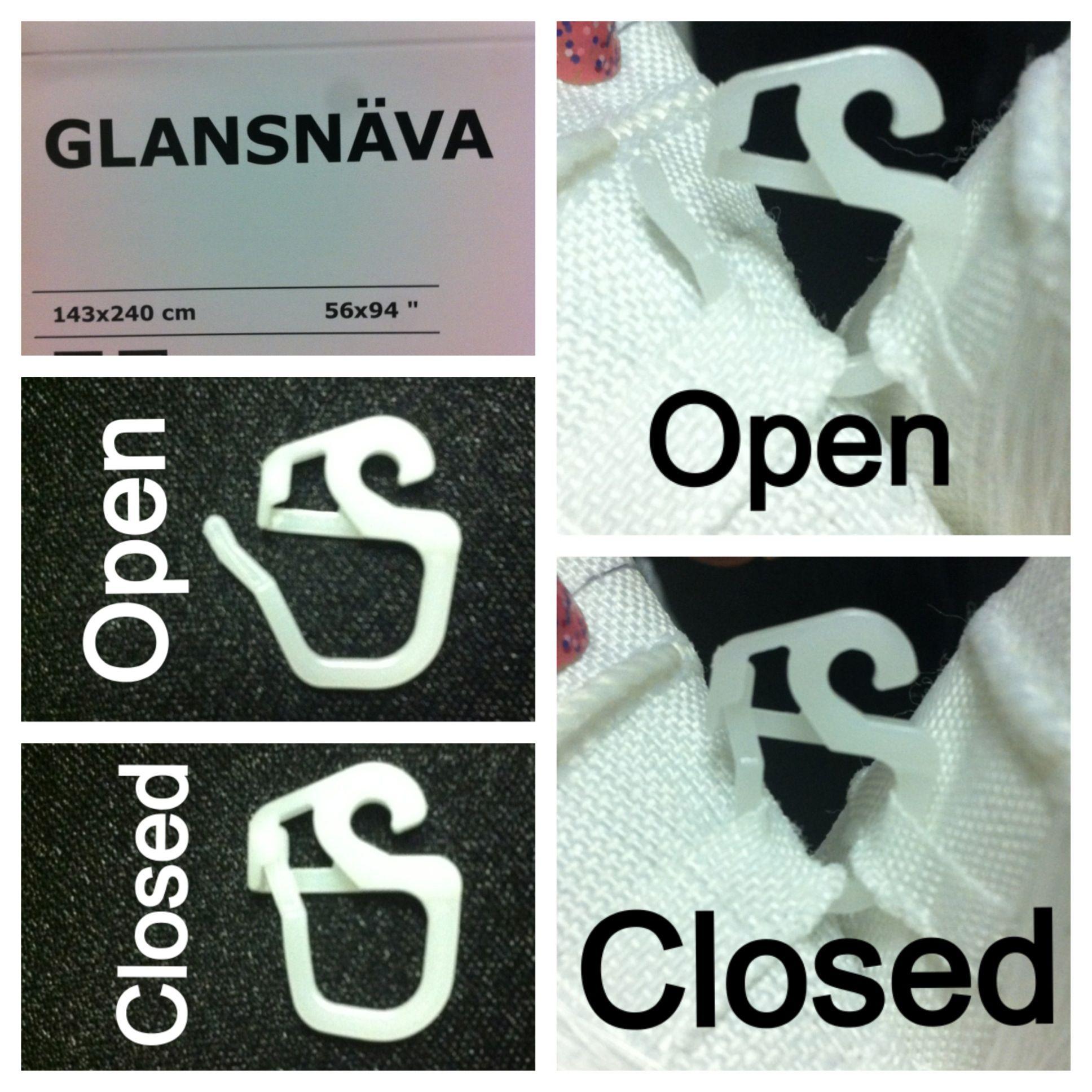 Ikea Curtains Ikea Clips How To Install Ikea Glansnava Blackout
