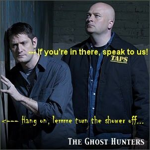 Don't interrupt the ghosts........ -_-