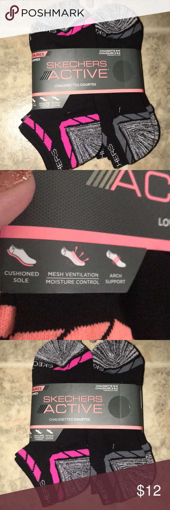 sketcher socks