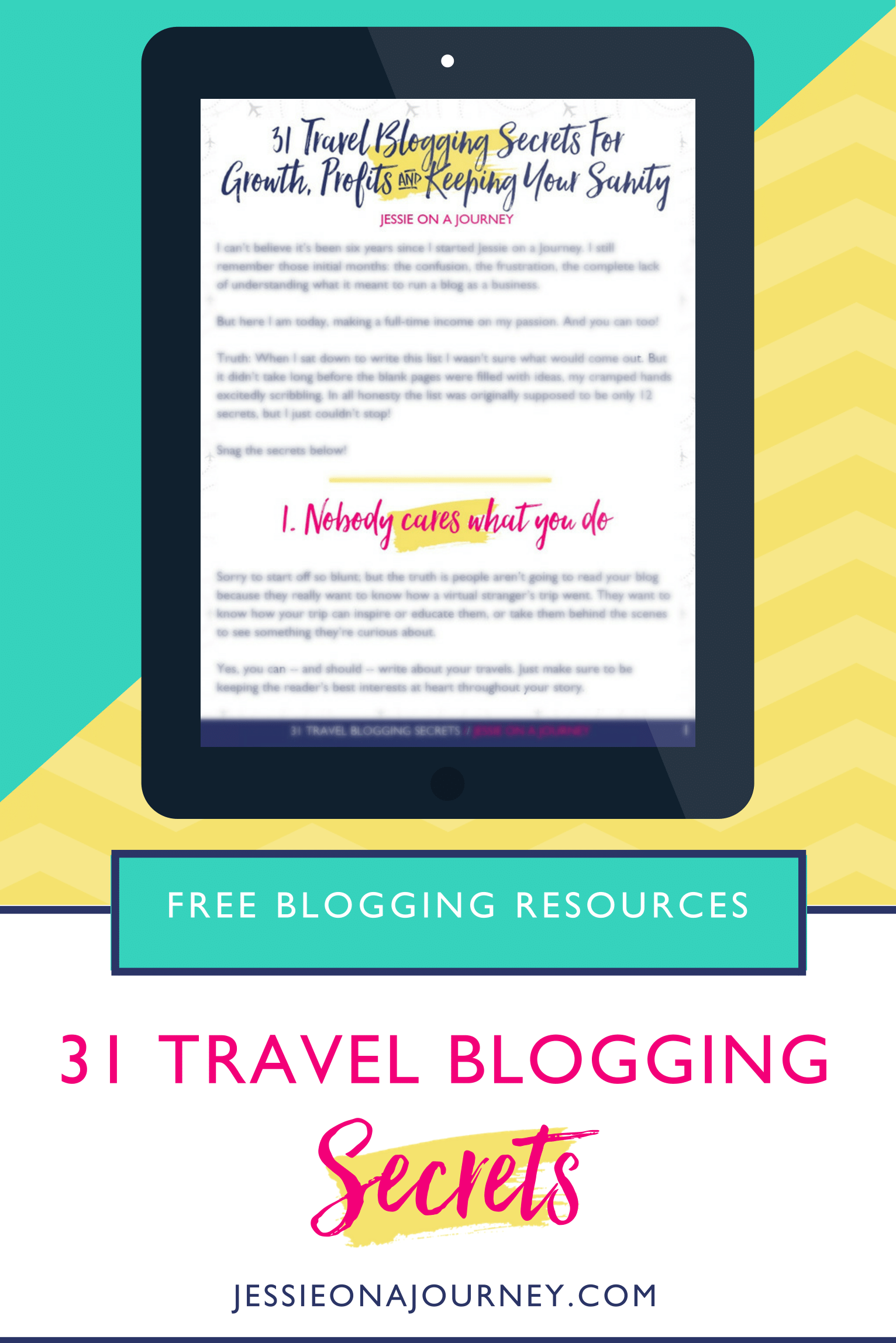 How To Be A Travel Blogger And Get Free Stuff