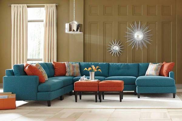 Mia Custom Sectional Sofa Around The House Pinterest