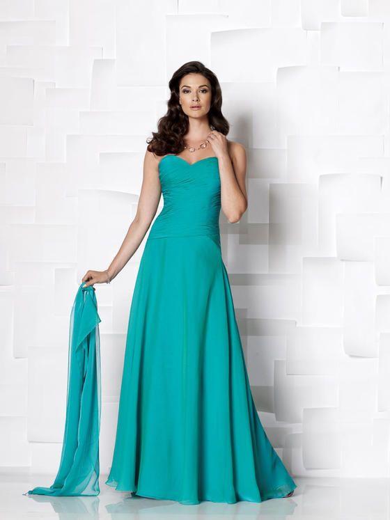 Cameron Blake by Mon Cheri - 113613B Long Dress In Patina $448 $266 ...