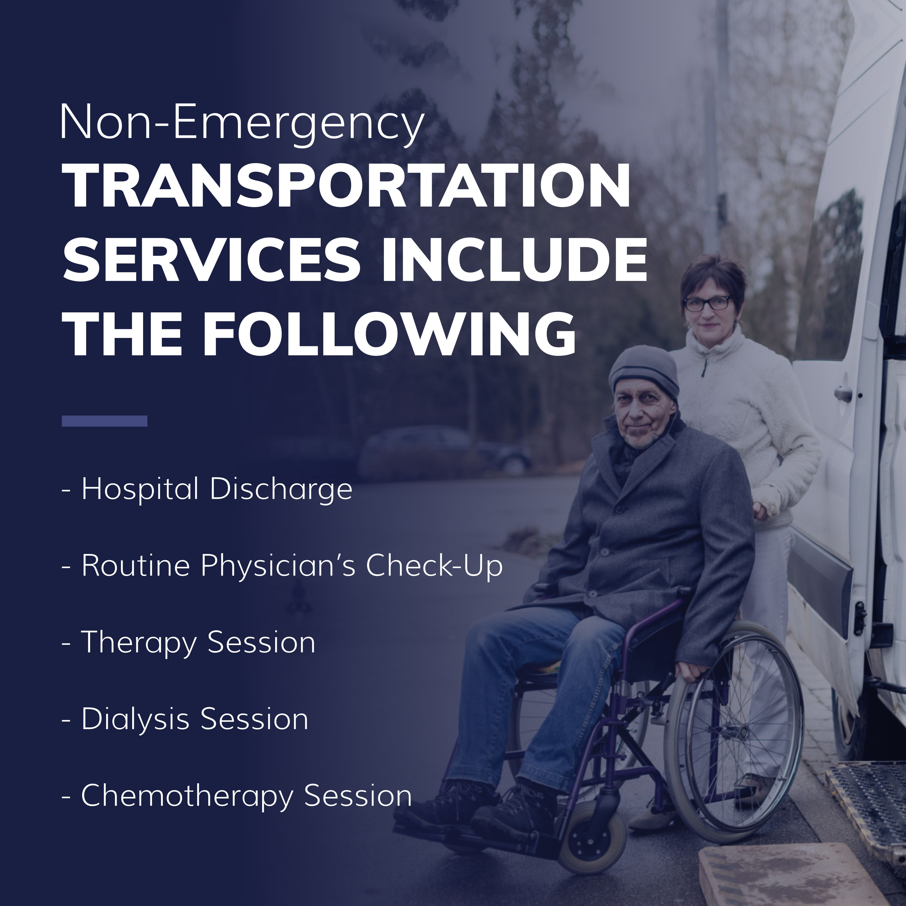 NonEmergency Transportation Services Include the