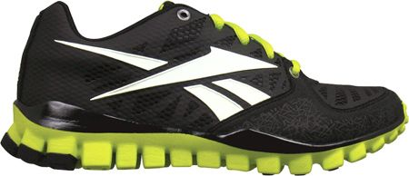 Boys will love the fierce combination of black, white and neon green. Unbeatable.