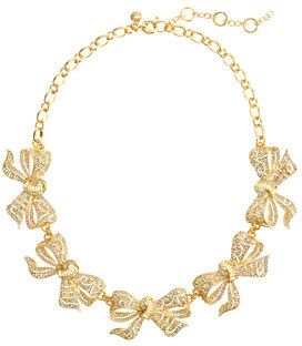 Bow collar necklace - jcrew