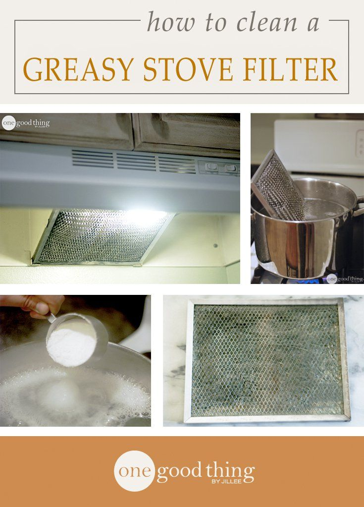 This Is The Easiest Way To Clean Your Range Hood Filter