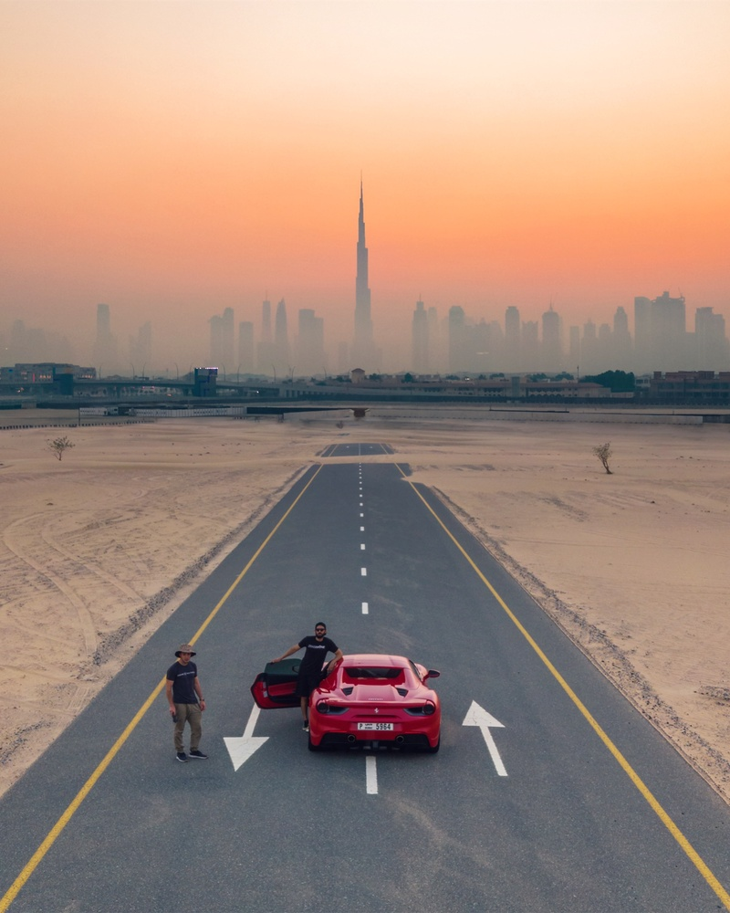 Discovering Fake Dubai A Road That Led To Nowhere In 2020 Visit