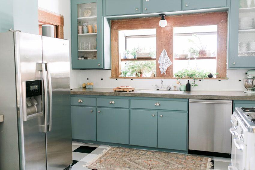 Ashley And Ross\' Kitchen Makeover On Design*Sponge | House ...