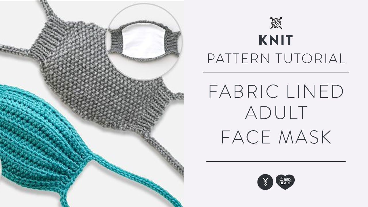 Pin On Face Mask Knitted Or Crochet