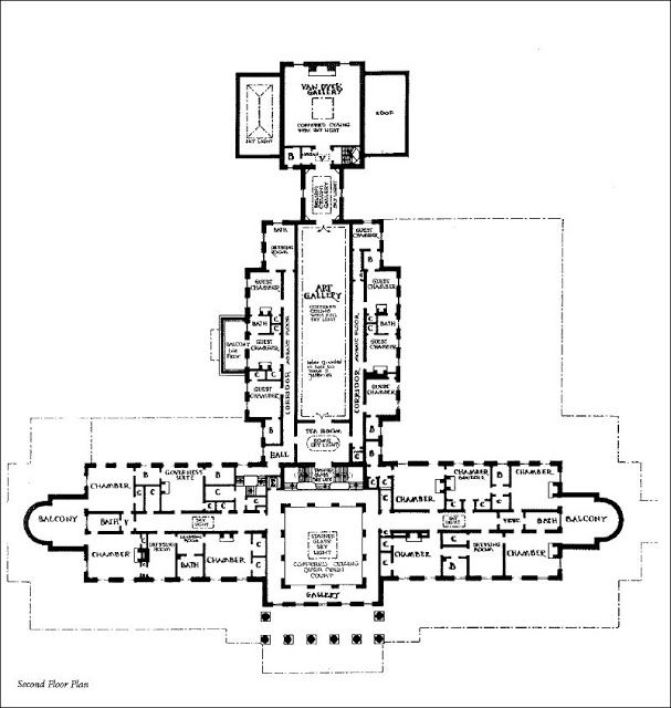 Second Chance Apartments In Atlanta: Mansion Floor Plans: Lynnewood Hall, Philadelphia