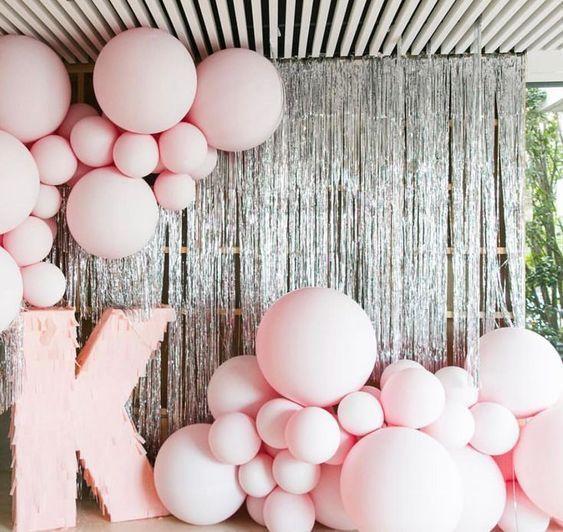 Ballon dekorieren Streifen Bogen Girlande Geburtstagsfeier Hochzeit Weihnachtsdekoration 5m # 21stbirthdaydecorations - #balloon #bow #decorate #ge ...