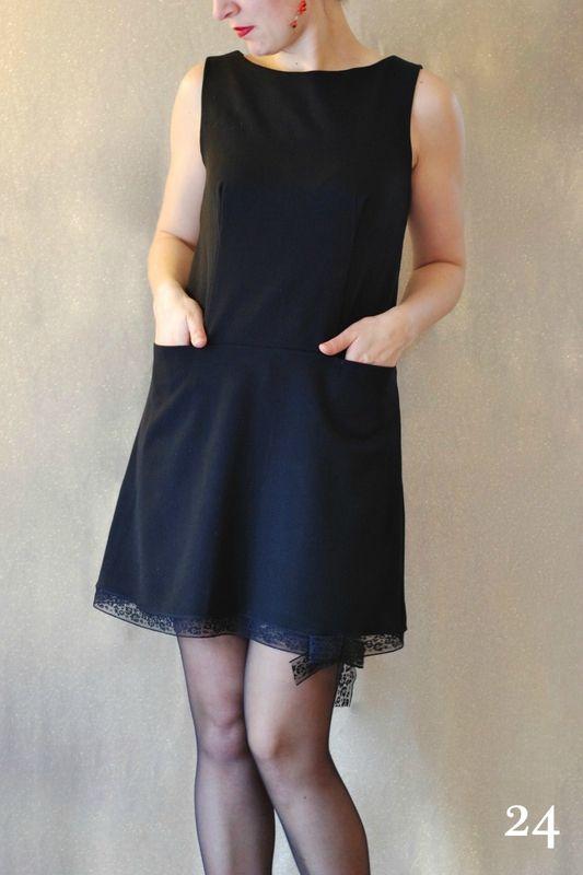 robe trap ze du livre dressing chic revisite les 70 39 s sur mon blog pinterest robes. Black Bedroom Furniture Sets. Home Design Ideas