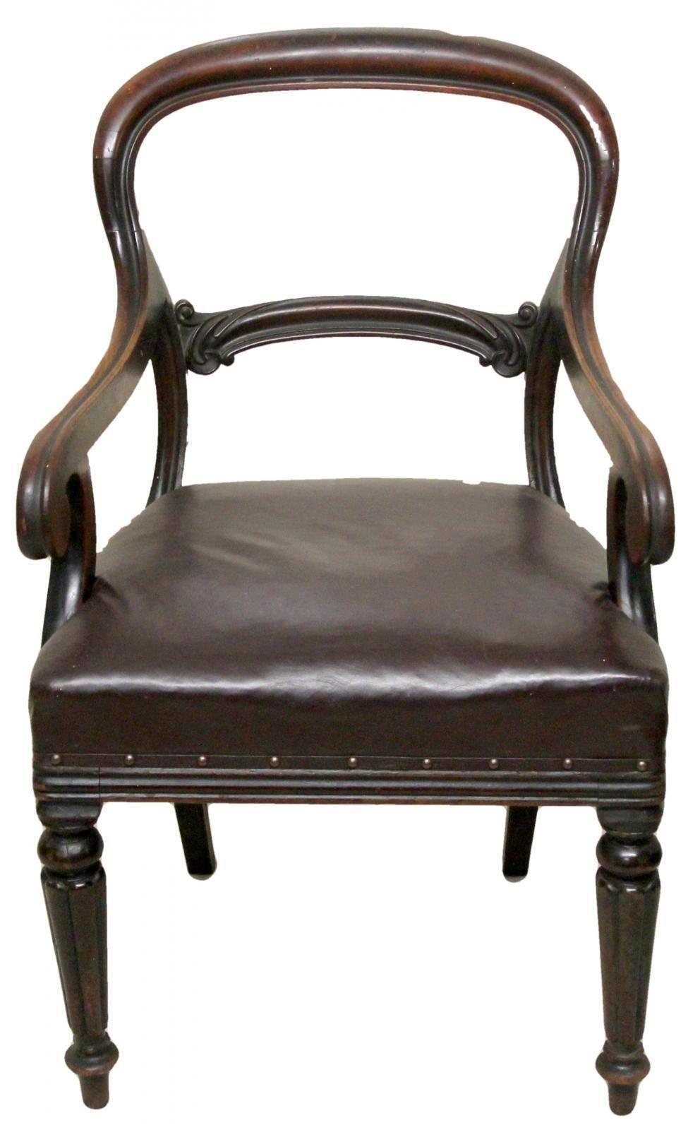 Victorian Antique Mahogany Desk Chair Victorian Desk Victorian Chair Mahogany Desk