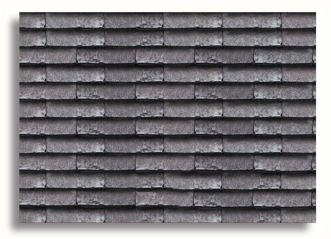 Miniature Doll House Decor Roof Tiles Grey Doll House Doll House Wallpaper Roof Tiles