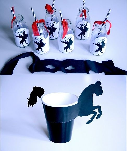 Pin De Elena Slovineanu En Mask Of Zorro Party Aniversario Cavalos